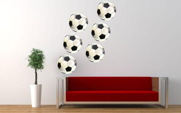 Naklejki drukwoane piłki